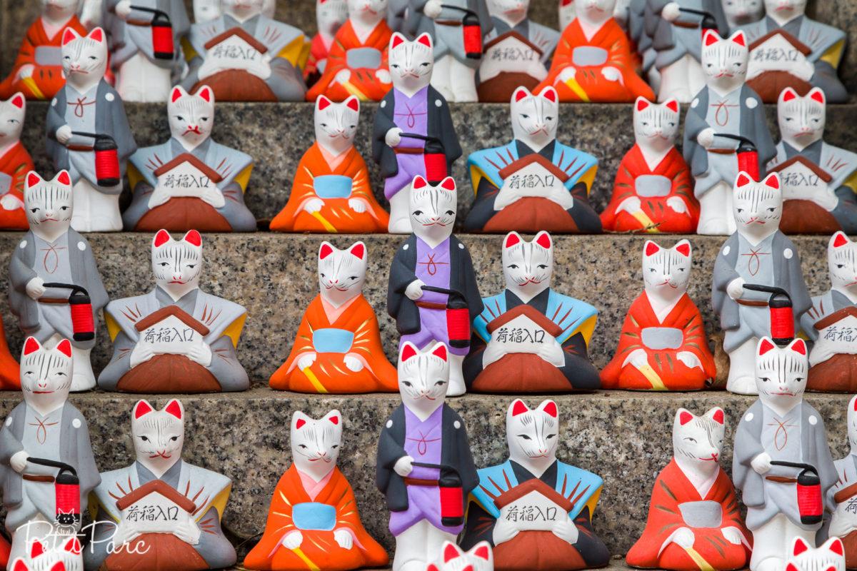 Statuettes kitsune