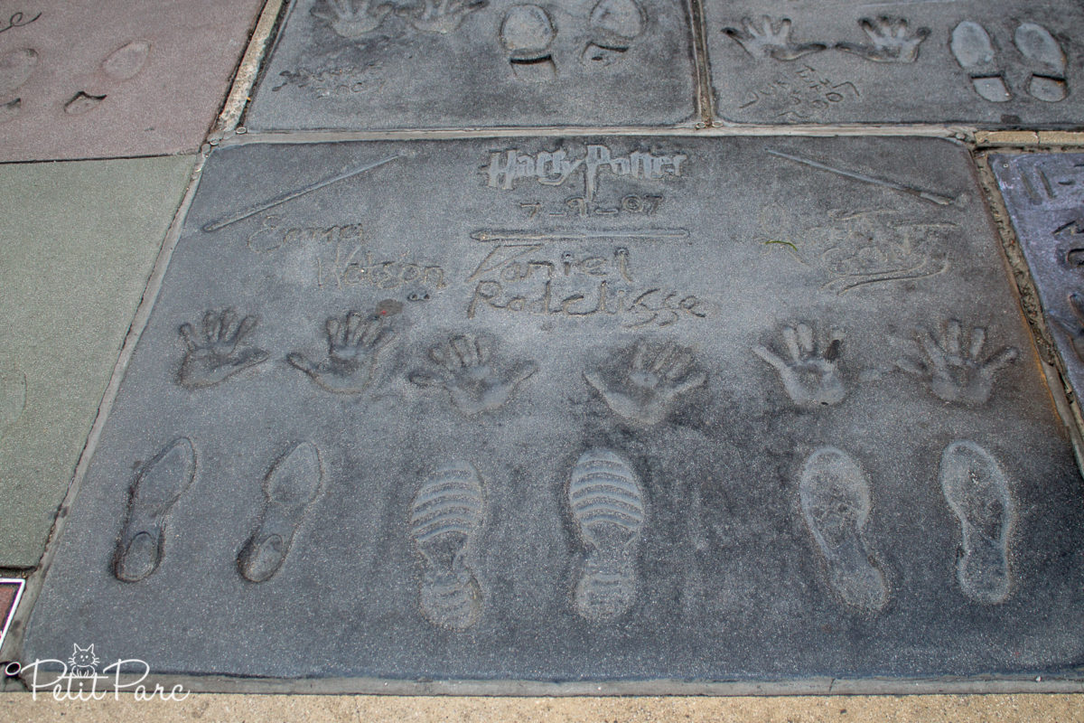 Parvis du Chinese Theatre