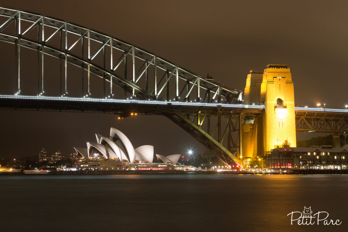 Le Sydney Harbour Bridge et l'opéra