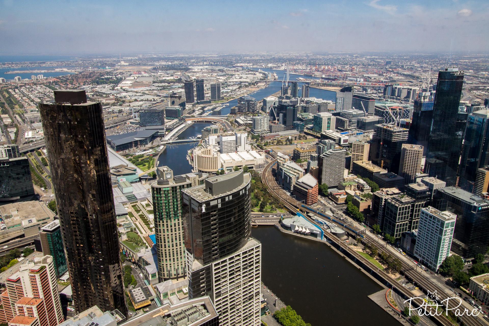 Melbourne depuis la Eureka Tower