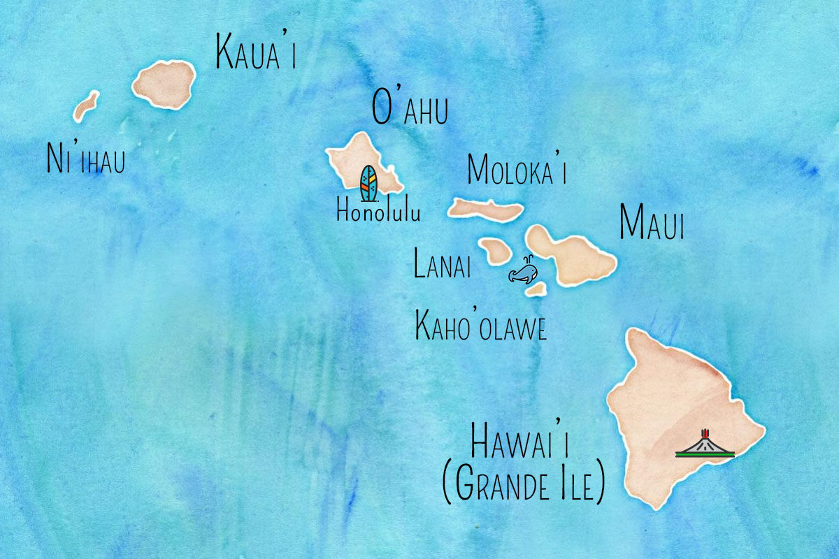 Hawaii Archiipel