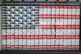 USA Flag Converse