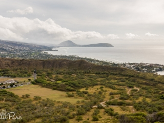 Le cratère de Diamond Head
