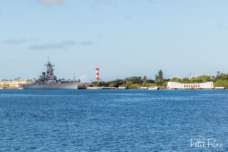 Mémorial USS Arizona & l'île de Ford avec l'USS Missouri