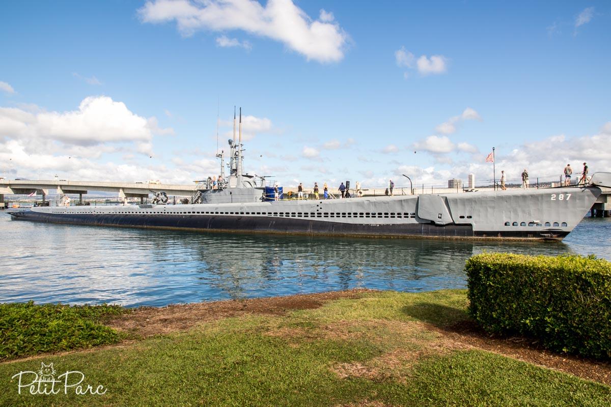 Le sous-marin USS Bowfin
