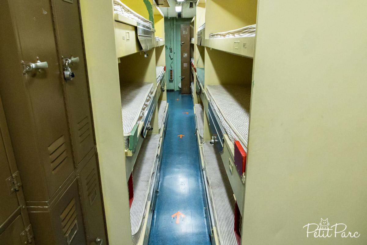 A bord de l'USS Missouri