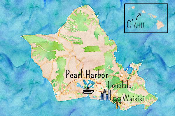 Pearl Harbor carte
