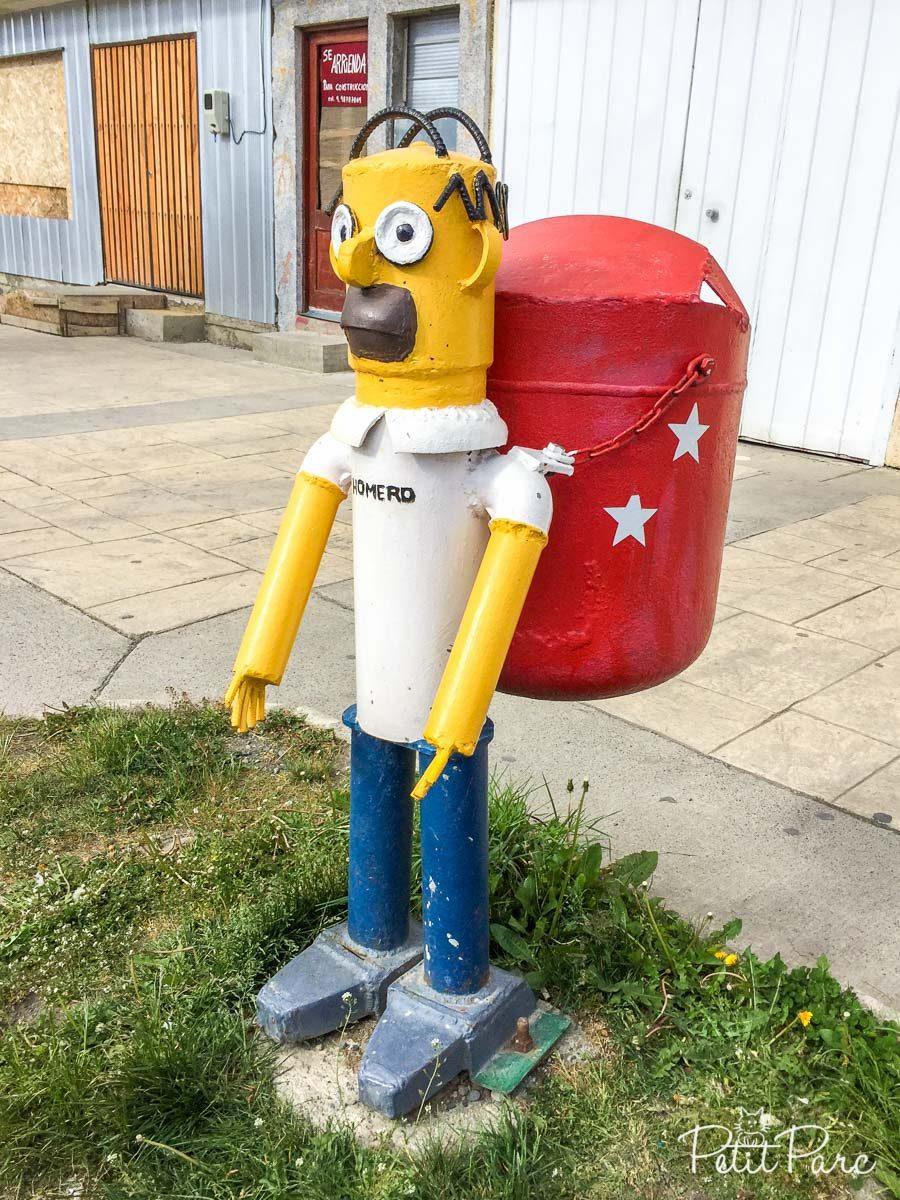 Boîte aux lettres Simpsons