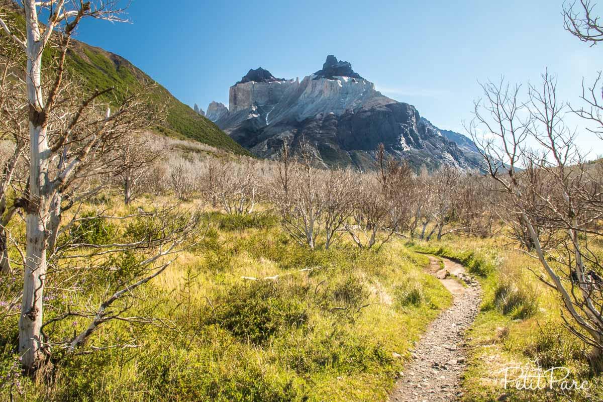En route vers la Valle del Francés : les Cuernos