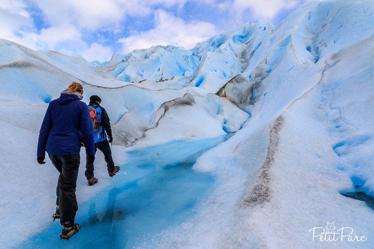 Sur le Perito Moreno