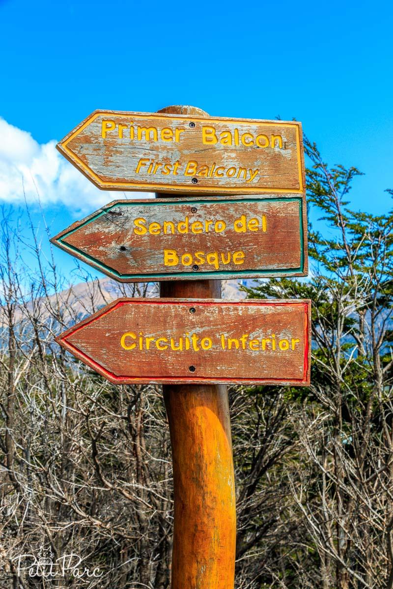 Passerelles d'observation du Perito Moreno