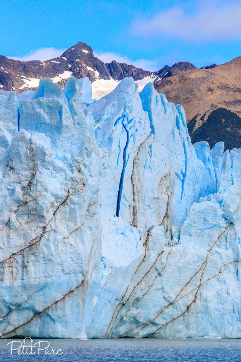 Perito Moreno depuis le bateau