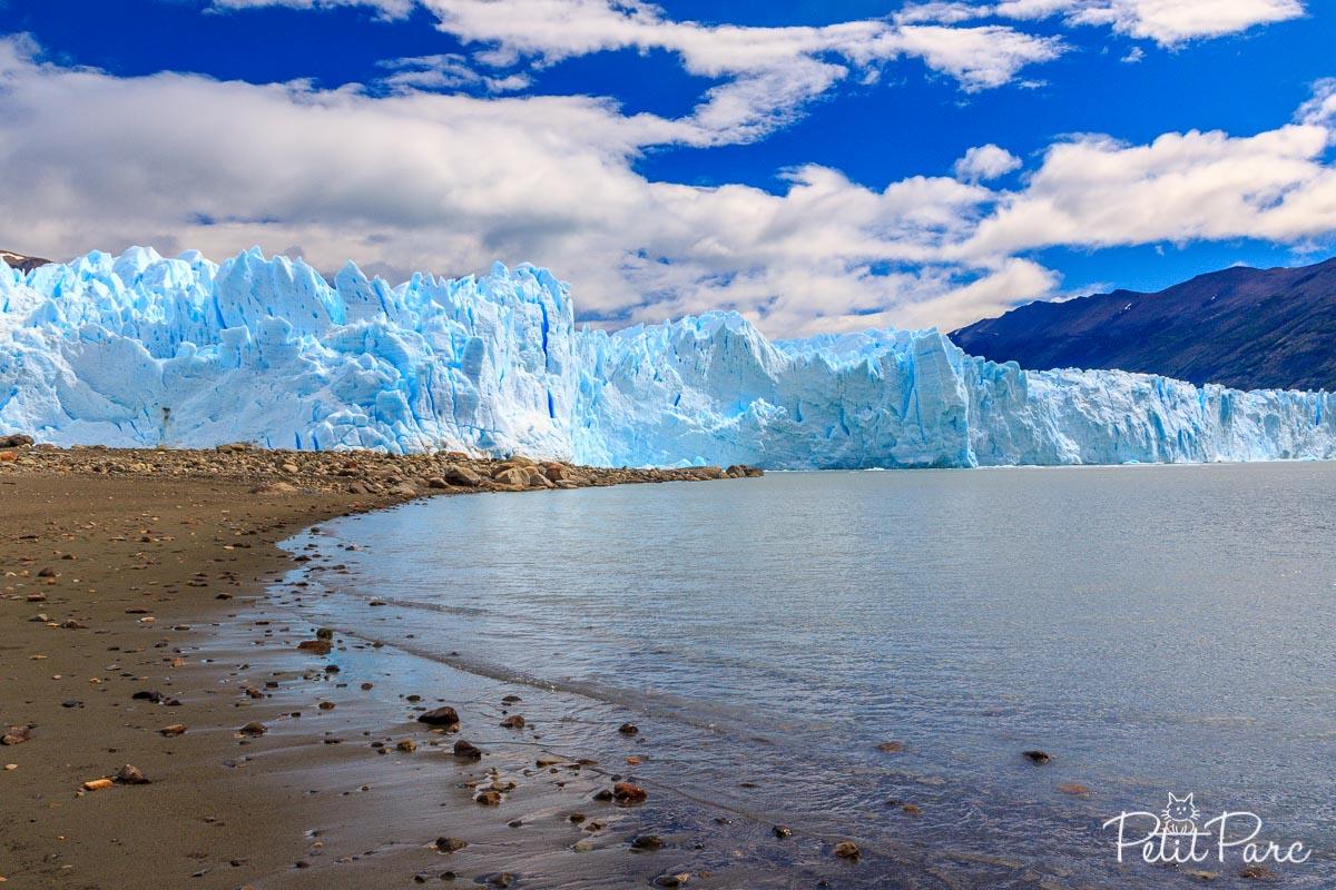 Le Perito Moreno, les pieds dans le Lago Argentino