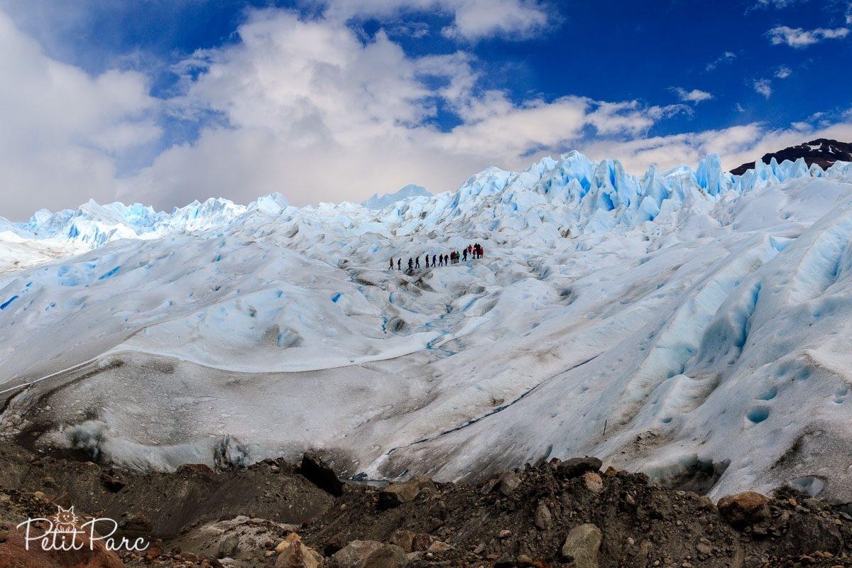 Mini Trekking sur le Perito Moreno