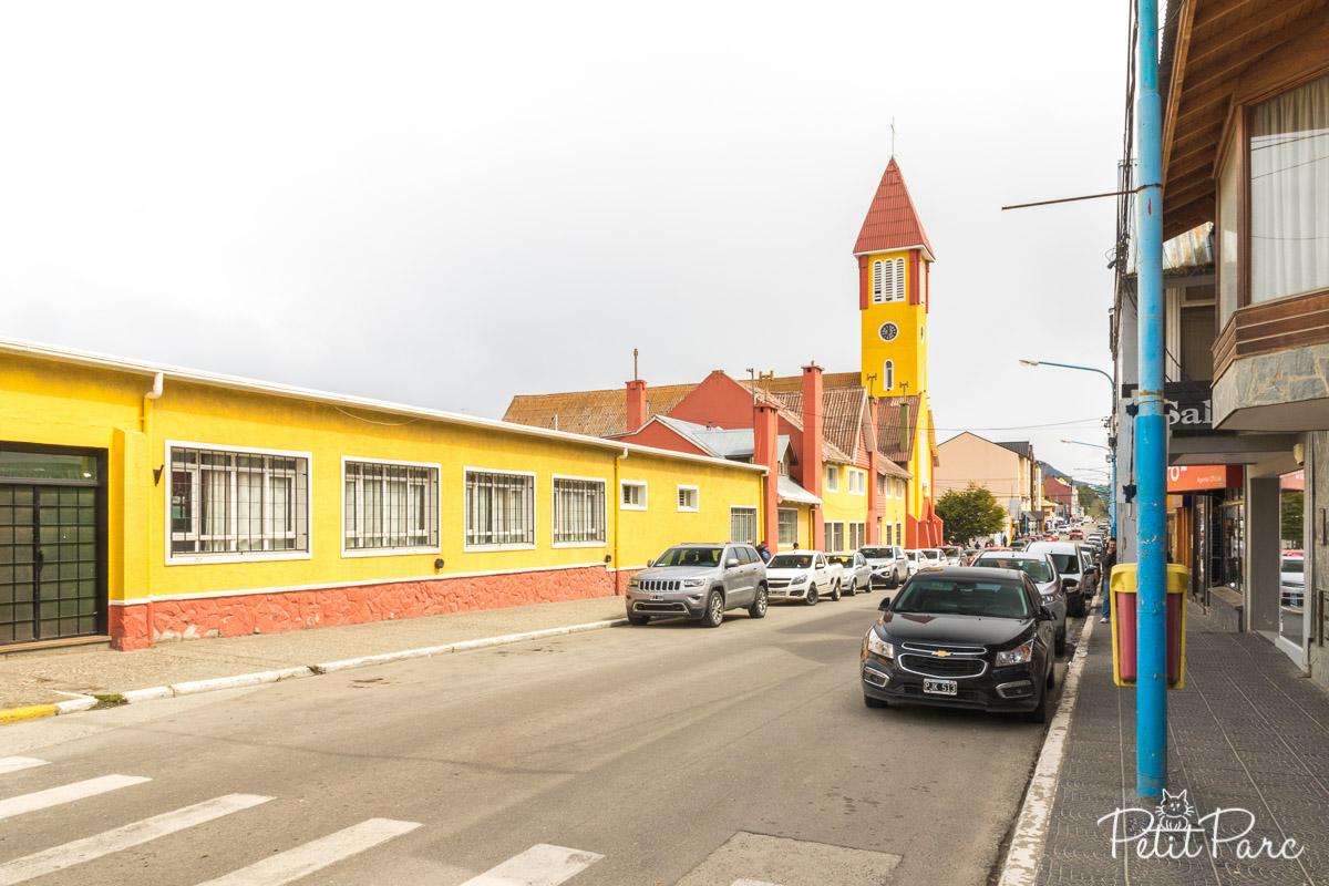 Avenida San Martín, Ushuaia