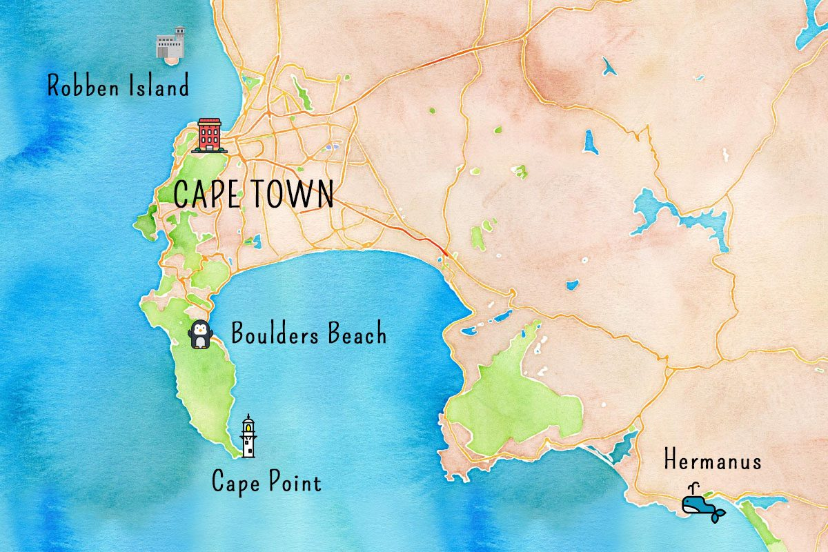 Région de Cape Town