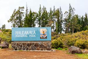 Haleakala National Park Panneau
