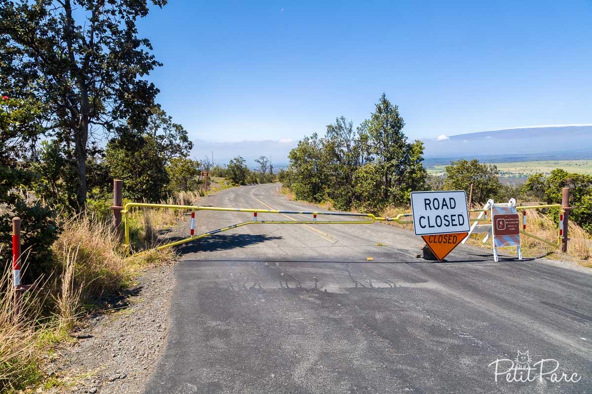 Crater road