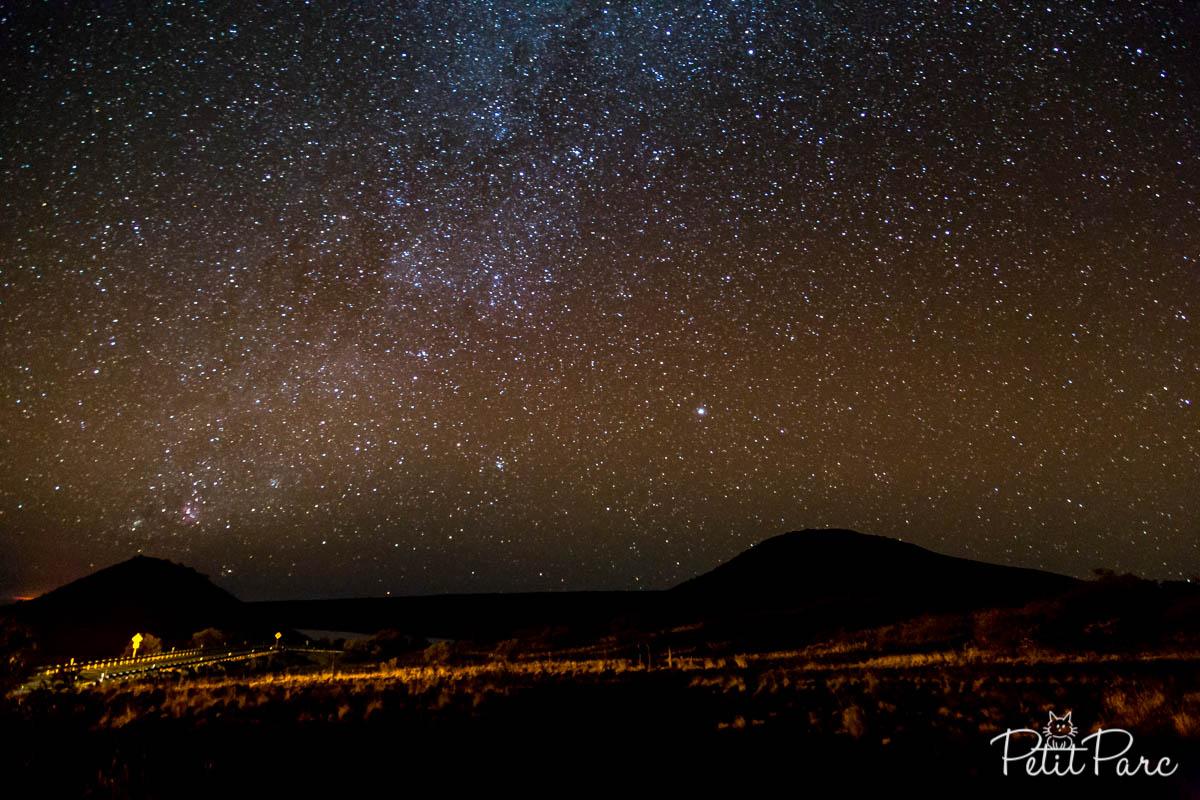 Tentative de photographie de la voie lactée