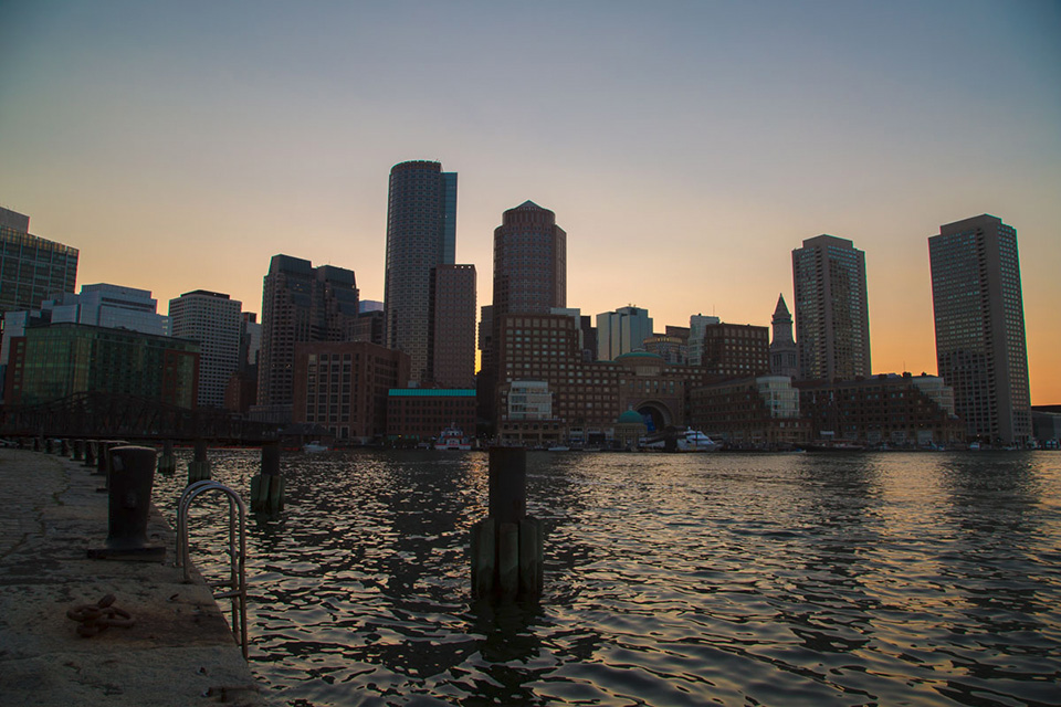 skyline boston sousexposee