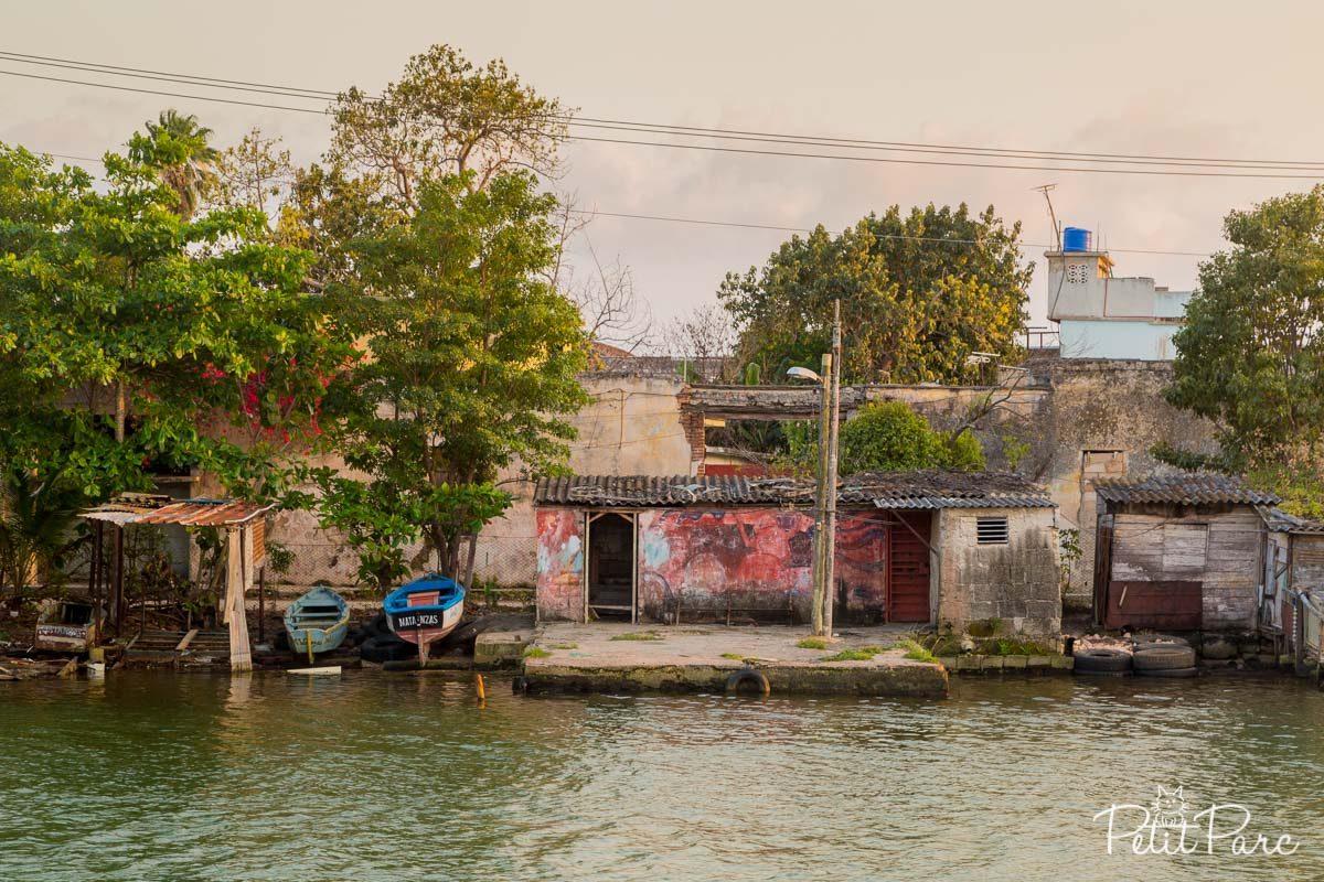 Le long du fleuve San Juan