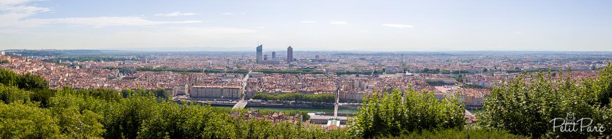 Panorama depuis Fourvière