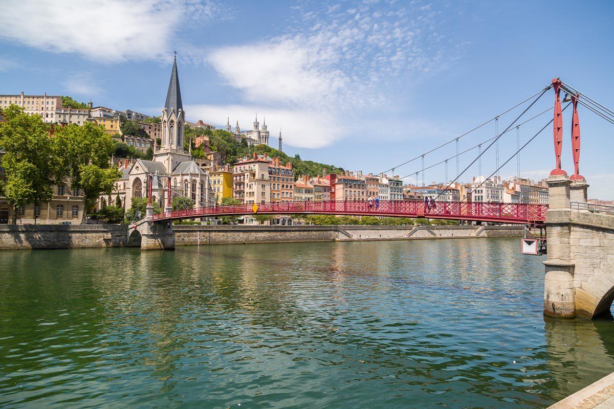 Bord de Saone à Lyon