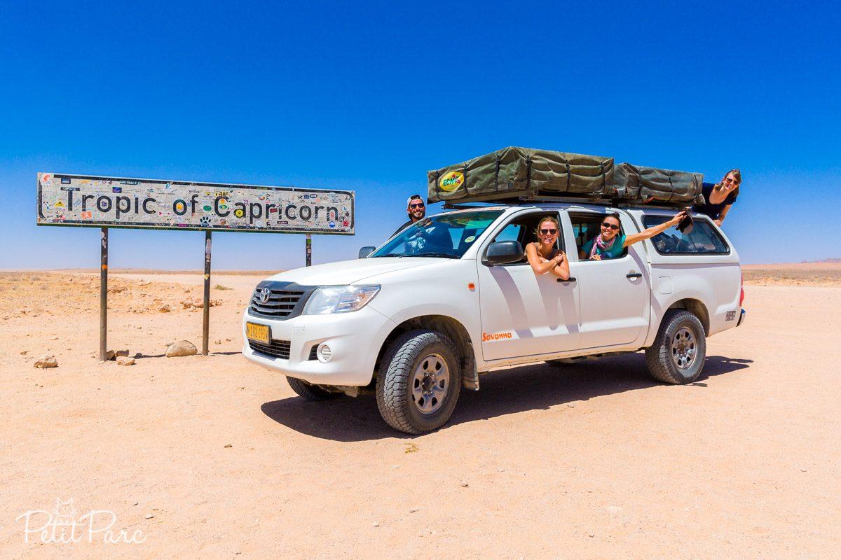 En Namibie avec les filles