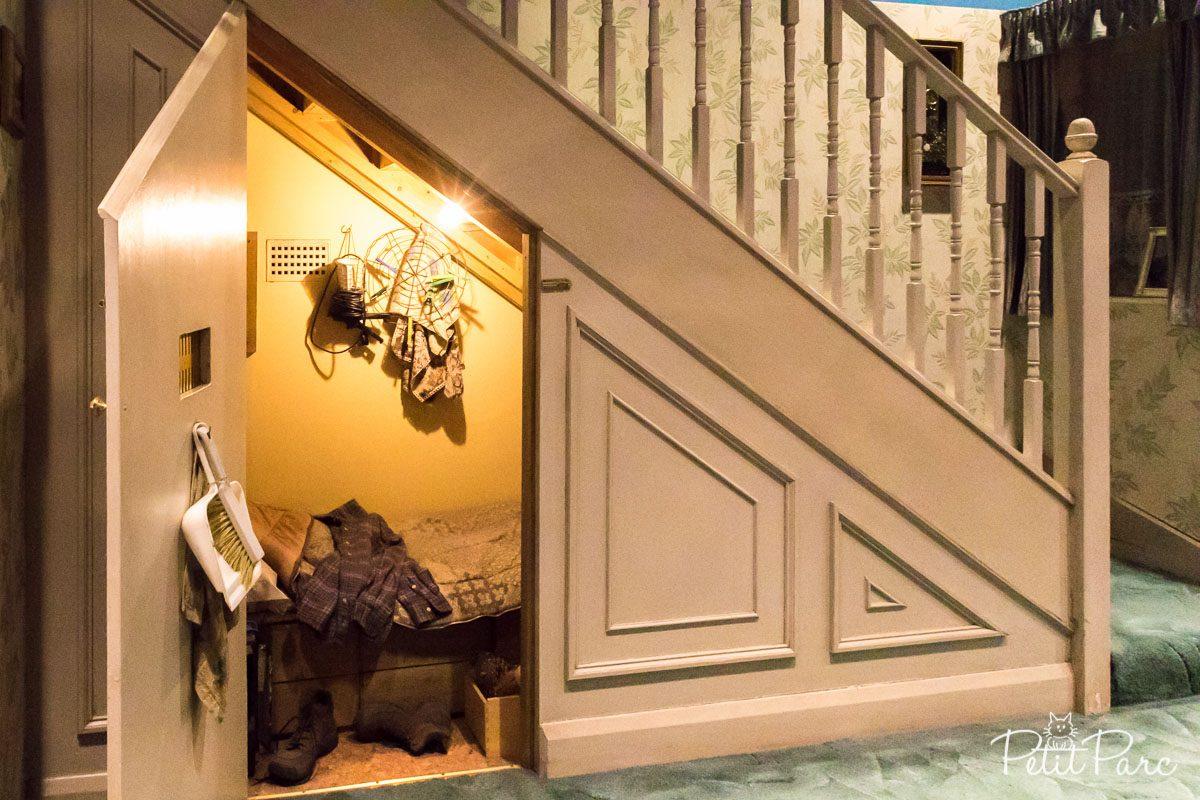 Le fameux placard sous l'escalier