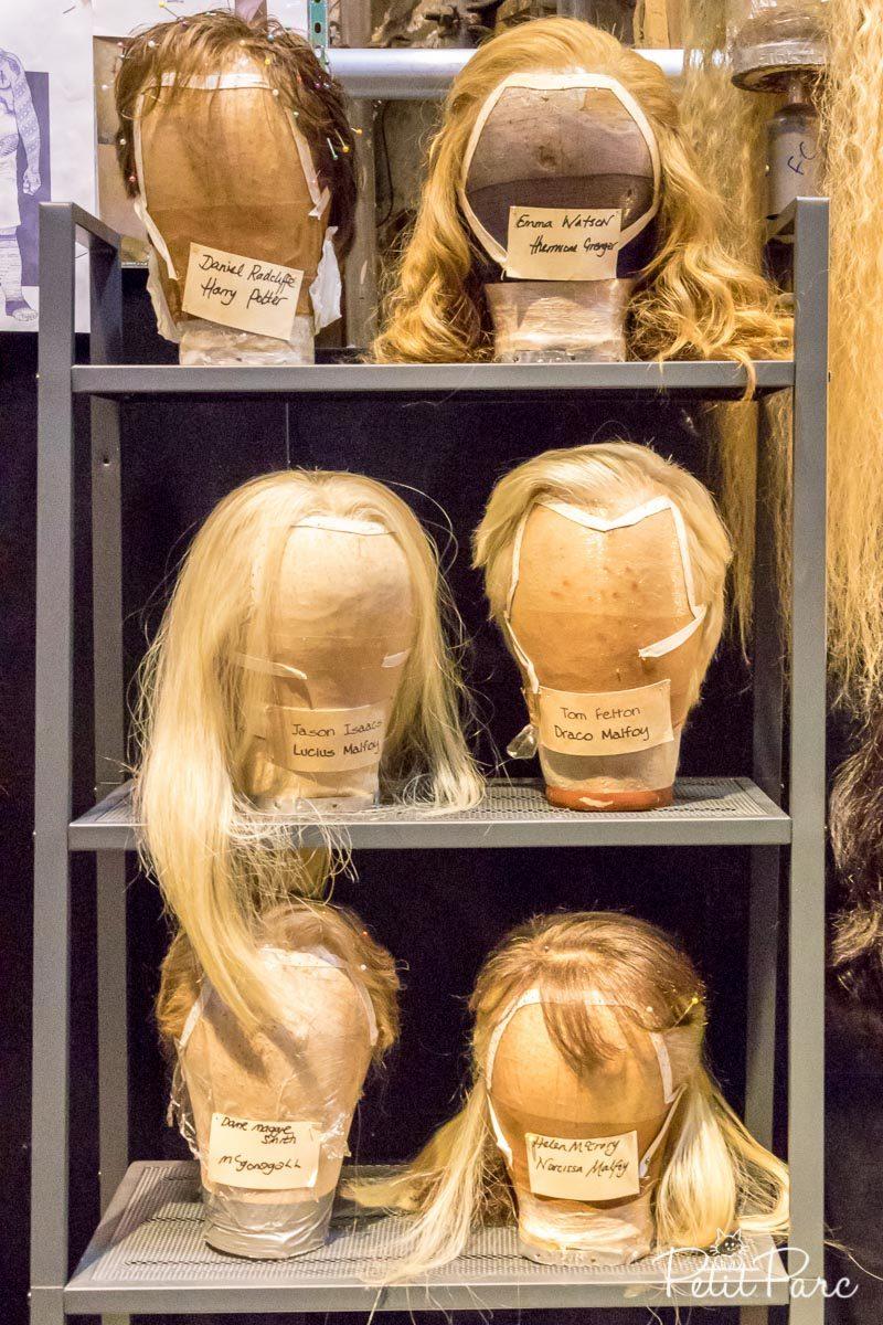 Les perruques des films harry potter