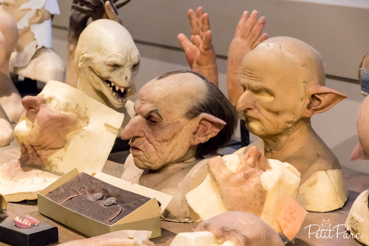 Divers masques des films harry potter