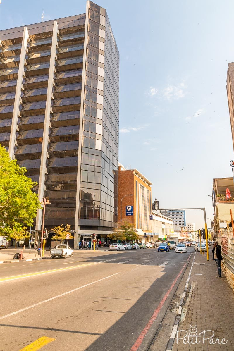 Downtown Windhoek
