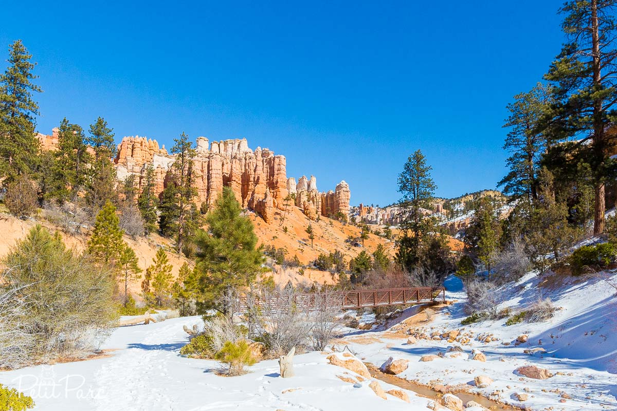 Bryce Canyon enneigé