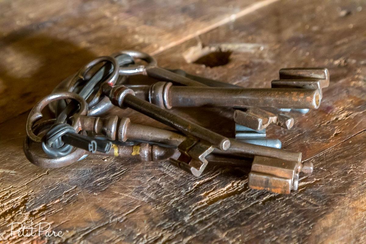 Jeu de clés anciennes