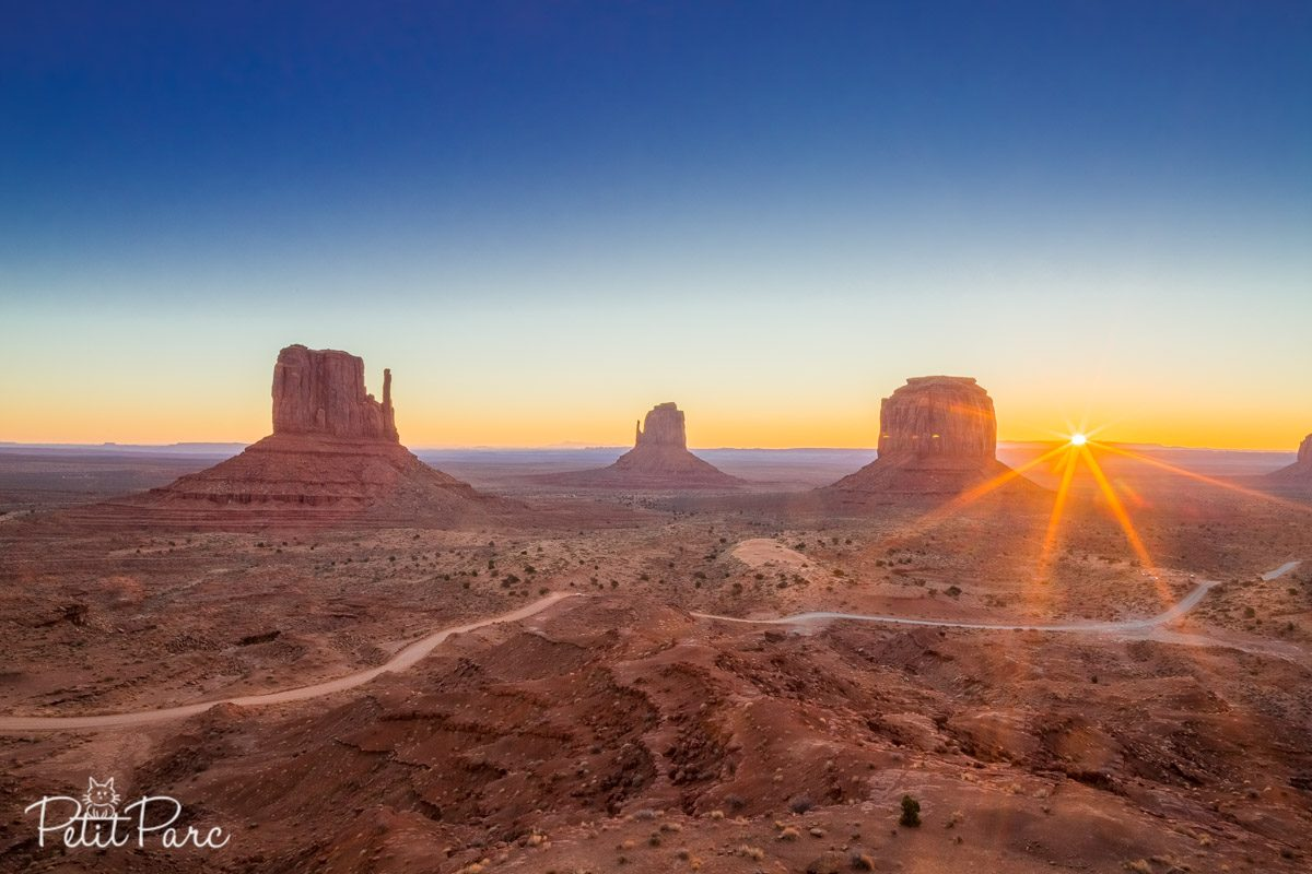 Lever Soleil Monument Valley
