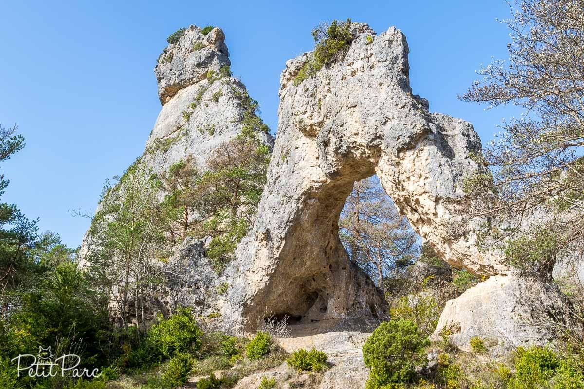 Une Arche rocheuse qui est apparue dans le film La Grande Vadrouille