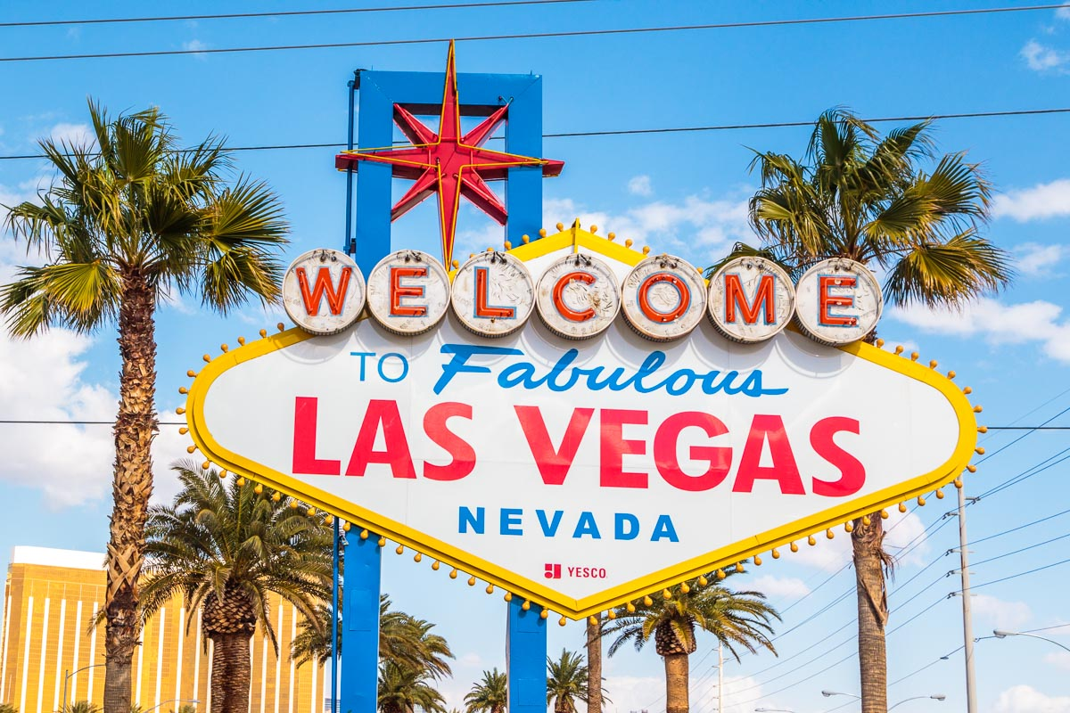 Panneau Welcome to fabulous Las Vegas