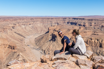Nous a Fish river canyon