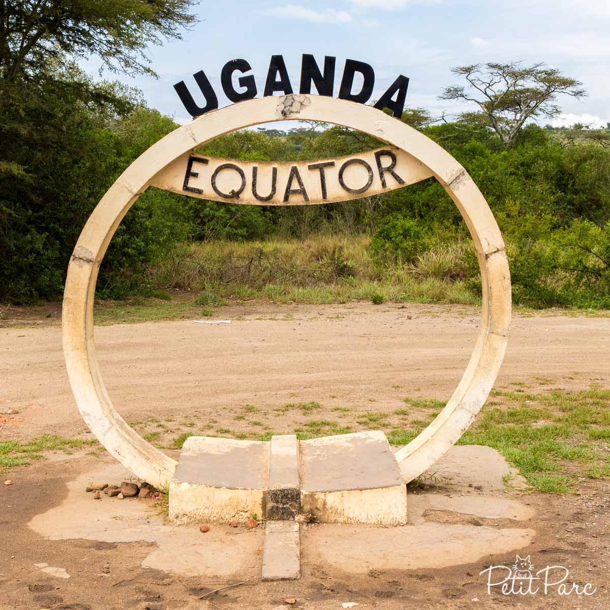 Et oui, léquateur traverse lOuganda !