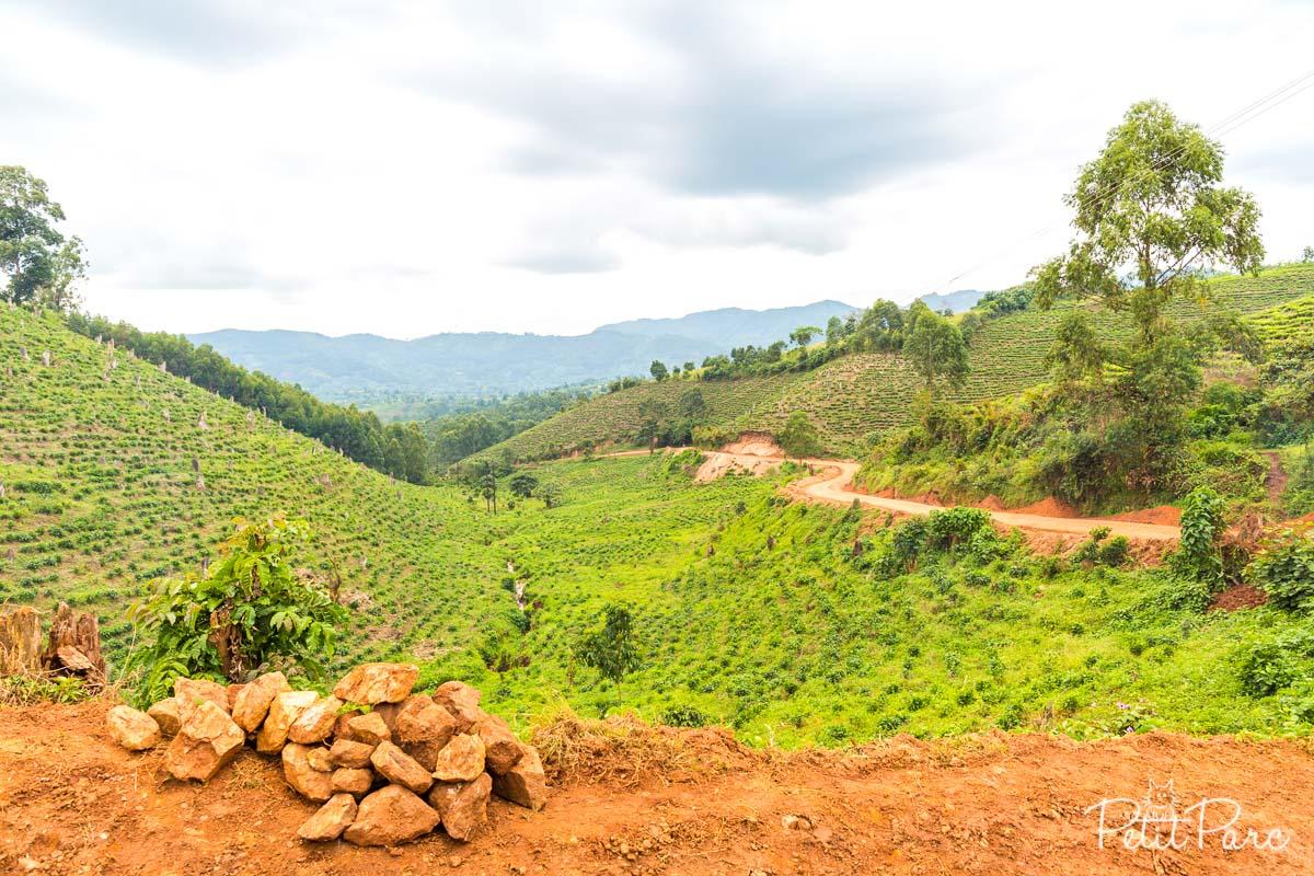 route ouganda